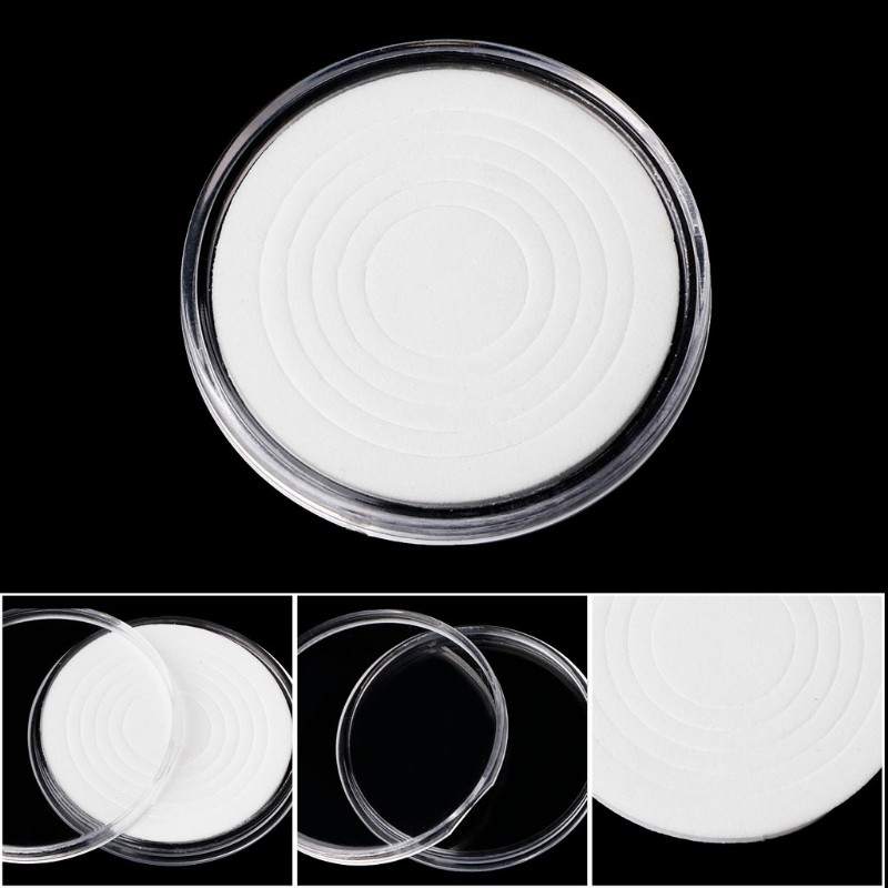 20-46mm Plastic Coin Holder Capsule Storage Case Display Box 5 Sizes Pad Ring