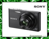 Sony DSCW830B 20.1MP 8x Zoom Digital Camera Black