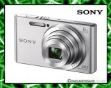 Sony DSCW830S 20.1MP 8x Zoom Digital Camera Silver