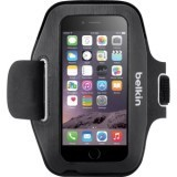 Belkin Sport-Fit Carrying Case (Armband) for iPhone 6 - Blacktop, Overcast - Neoprene