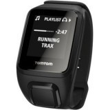 Tomtom Spark Cardio + Music GPS Fitness Watch - Wrist - Optical Heart Rate Sensor, Pedometer - Music Player, Alarm, Stopwatch - Calories Burned - Bluetooth - GPS - Rectangular - Black - Tracking, Health & Fitness, Cycling, Running, Geocaching - Water Resi