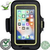 Belkin Sport-Fit Carrying Case (Armband) for iPhone 6, iPhone 6S, iPhone 7, iPhone 8 - Blacktop - Slip Resistant Interior - Neoprene Strap - Matte Texture - Armband