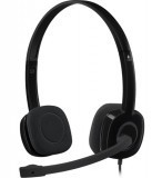 Logitech H151 Stereo Headset Single Pin Analogue Black