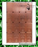 Osborne Mint 1 Pound Copper Crackers™ Bars