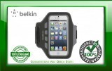 Belkin iPhone 5, 5S iPod 5 Easfit Armband, Blacktop - Water Resistant