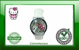 Hello Kitty Watch with Diamantes - White Strap