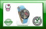Hello Kitty Watch with Diamantes - Blue Strap