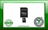KINGSTON 16GB microSDHC&Adaptor Lifetime Warranty