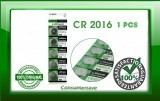 1 x Top Quality CR2016  BR2016, DL2016, LM2016, KCR2016, ECR2016 Button Cell Battery