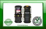 MANN ZUG S Rugged 2 Inch Display Phone - IP67 Waterproof + Dust Proof Rating, Shockproof, 2570mAh Battery (Yellow)