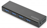 Ednet 4 Port USB 3.0 Powered Slim Hub