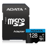 ADATA Premier microSDHC UHS-I A1 V10 Card with Adapter 128GB