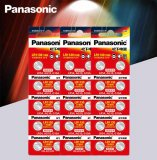 PANASONIC 100 Pcs (10 Packs) 389 SR1130 189 LR54 G10A 390A KA54 Alkaline Battery Genuine
