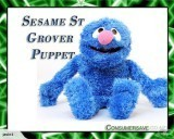 Sesame street Grover doll puppet plush toy