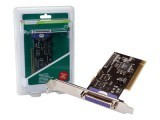 Digitus I/O Card 2 X Serial 1 X Parallel PCI w/low Profile