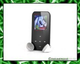 ONN Q2 1.5 Inch LCD MP3 + MP4 Player - 4GB Internal Memory, FM Radio