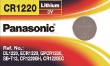 PANASONIC 1 Pcs CR1220 3V CELL BATTERY ECR1220 DL1220 LM1220 KCR1220 HIGH QUALITY