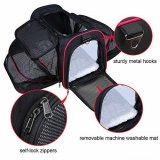 Pet Carrier Breathable Handbag 2-side Expandable Travel Bag for cats or Dogs