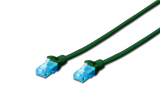 Digitus UTP CAT5e Patch Lead - 0.5M Green