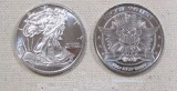 NMS 1/2 Ounce Nickel Round - 2012 Walking Liberty