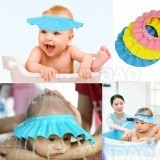 Baby's Hair Wash Hat Shampoo Shower Cap Blue