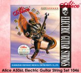 Alice A506 Steel Core Plated Steel Coated Nickel Alloy Wound Electric Guitar Strings Light Super Light