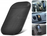 Magic Sticky Anti-Slip Car Pad for Cell (BLACK)