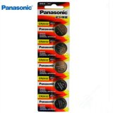 PANASONIC CR2032 5 Pcs 3V Lithium Battery 5004LC ECR2032 DL2032 KCR2032 EE6227