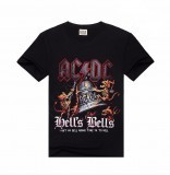 ACDC Hells Bells T-Shirt Medium 100% cotton