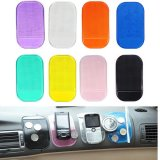 Car Magic Sticky Anti-Slip Pad for Phones Black Blue Yellow Green Purple White