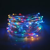 Solar String LED Lights, Solar Outdoor Lights,10M 100LED Multi Colour