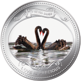 2009 Love is Precious 1oz .999 Silver