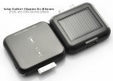 Solar Battery Charger for iPhones, iPods, and USB Devices