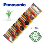 PANASONIC CR2025 5 Pcs 3V Lithium Battery DL2025 ECR2025 GPCR2025