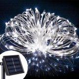 Solar String LED Lights, Solar Outdoor Lights,5M 50LED WHITE Colour