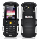 MANN ZUG S Rugged Phone - 2 Inch Display, IP67 Waterproof + Dust Proof Rating, Shockproof, 2570mAh Battery