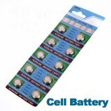 10 x 1.5v AG13 LR44 A76 L1154 RW82 303 357 SR44 5.4x11.6x11.6mm Cell Button Battery