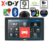 XGODY X4 9 Inch 256M+8G Bluetooth AV-IN Car Truck GPS Navigation Capactive Screen FM Navigator