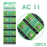 10pcs/pack LR721 362 AG11 Button Battery SR721 162 Cell Coin Alkaline Batteries 1.55V For Watch Toys Remote