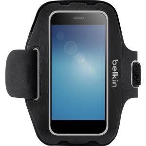 Belkin Sport-Fit Carrying Case (Armband) for Smartphone - Black - Armband