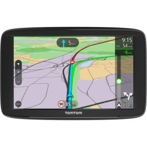 "TomTom VIA 52 Automobile Portable GPS Navigator - Mountable, Portable - 12.7 cm (5"") - Touchscreen - Microphone, Speed Camera Detector, Speaker - Lane Assist, Speed Assist - Bluetooth - USB - 1 Hour - Preloaded Maps - Lifetime Map Updates - Lifetime Traff"