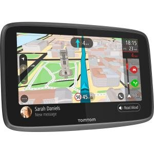 "Tomtom GO 6200 Automobile Portable GPS Navigator - Mountable, Portable - 15.2 cm (6"") - Touchscreen - Speed Camera Detector, Microphone, Speaker - Voice Command - Bluetooth - USB - 1 Hour - Preloaded Maps - Lifetime Map Updates - Lifetime Traffic Updates"