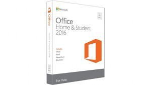 Microsoft Office Mac Home and Student 2016 No Media