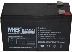 Fujian MS7.2-12 12V 7.2Ah 20HR Lead Acid Battery