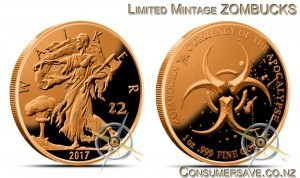 1 Ounce Copper Round Zombucks™ Walker Now Out of Production #1 - Final Mintage 110,602
