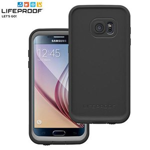 LifeProof FR Otterbox for Galaxy S7 Case - For Smartphone - Black - Water Proof, Dirt Proof, Dust Proof, Snow Proof, Drop Proof, Shock Resistant, Vibration Resistant, Bump Resistant, Damage Resistant