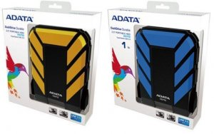 ADATA Durable HD710 2.5 USB3.0 Black Portable HDD 1TB