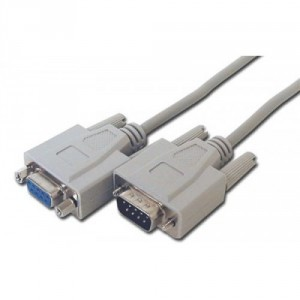 Digitus DB9M-DB9F Serial Extension Cable - 2M