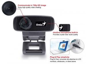 a10121af0c3 Genius FaceCam 1000X HD Webcam