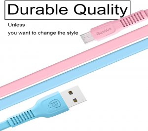 Baseus USB Type C Cable Data Charging Charger Wire Cord Type-C for iPhone, Samsung, Ulefone, Doogee, HTC, Huawei, Xiaomi and Many more!
